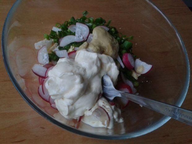 Roladki z sałaty i jajek