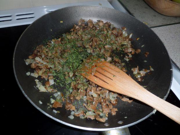 Roladki z suszonymi grzybami