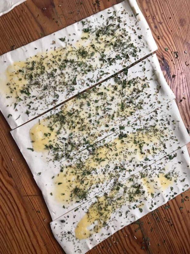 Roladki ze szpinakiem i szynką parmeńską
