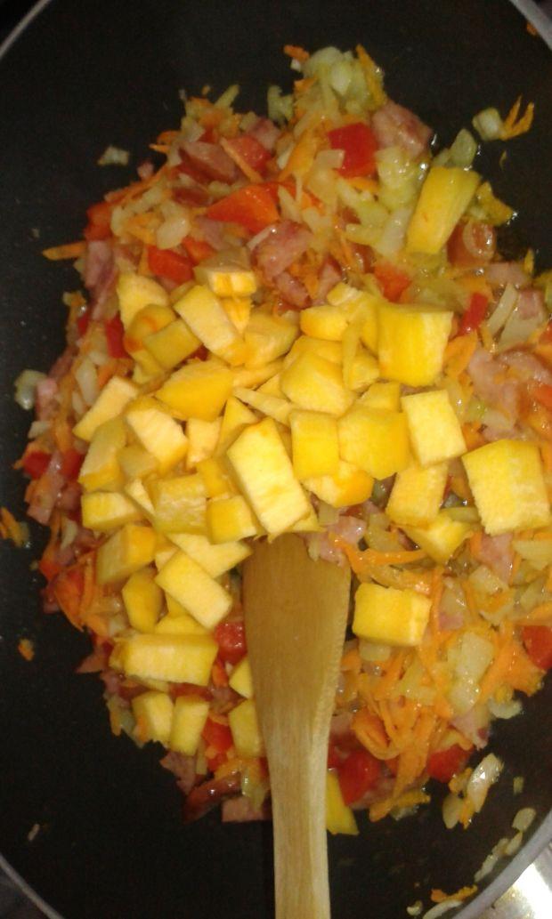 Rolady z warzywami z dodatkiem dyni
