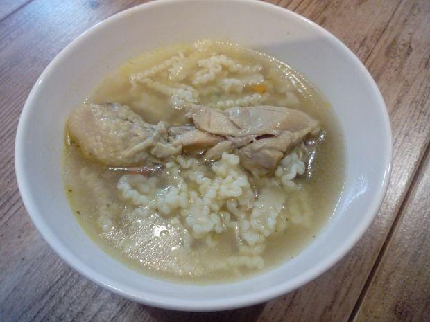 Rosół z kurczaka i gołębia