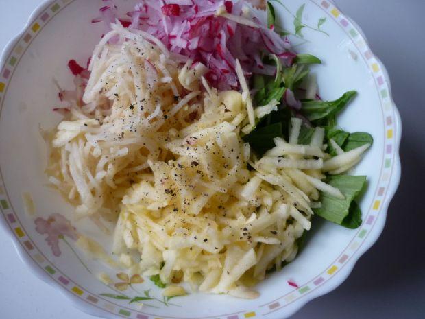 Roszponka z majonezem