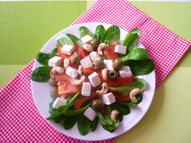 Roszponka z pomidorami i serem