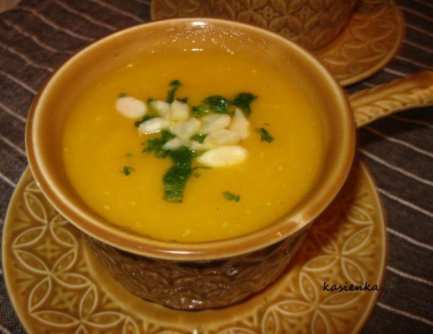 Rozgrzewająca zupa krem z dyni