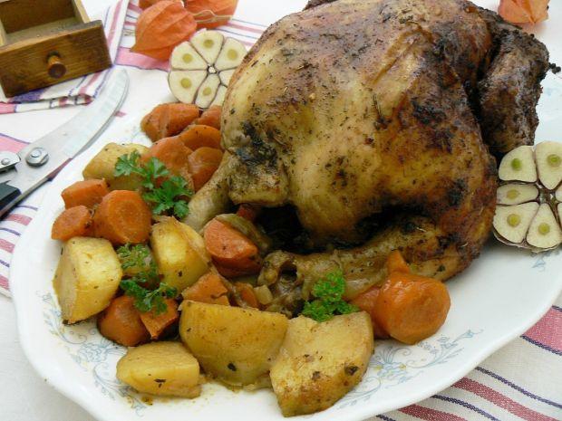 Rozmarynowy kurczak piwny