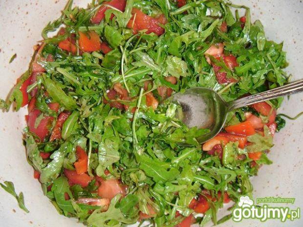 Rukola w sosie z octu balsamicznego