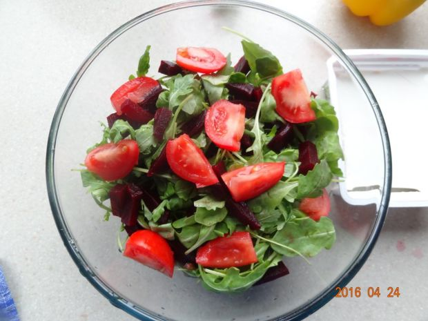 Rukolowa sałatka