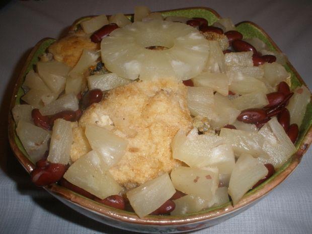 Ryba na słodko w sosie ananasowym