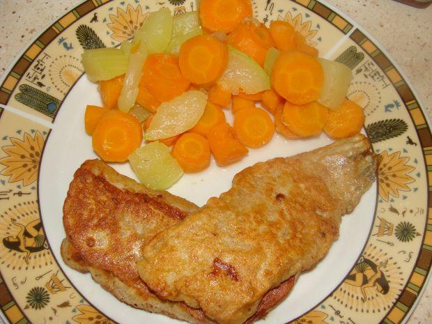 Ryba w cieście naleśnikowym z mąki żytniej