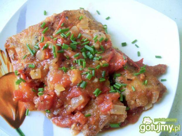 Ryba w pomidorowym sosie