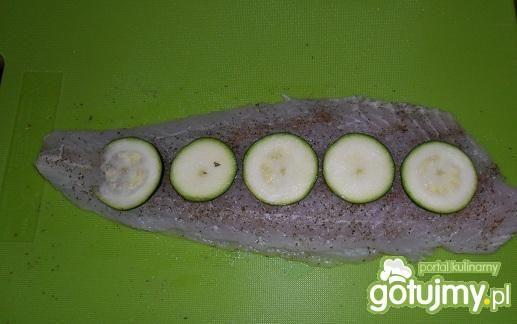 Ryba z cukinią z parowaru