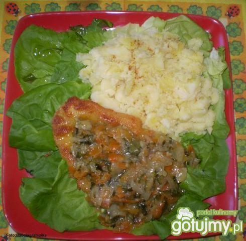 Ryba z warzywami :