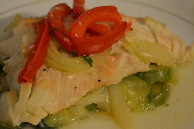 Ryba z warzywami w papitotach