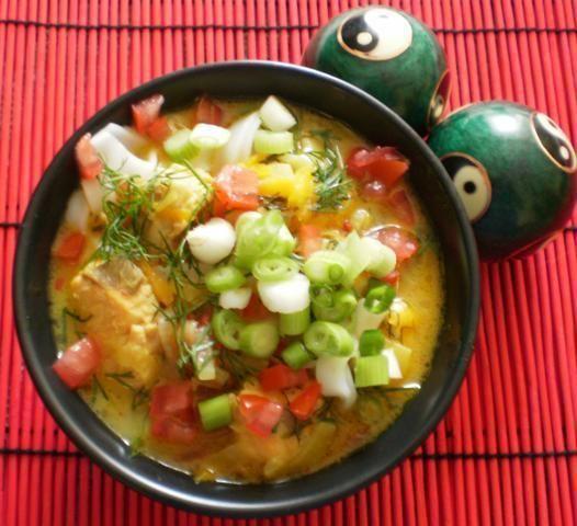 Rybna cebulowa z tajskim smaczkiem :