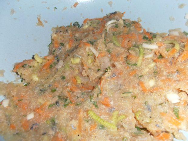 Rybne kotleciki z warzywami