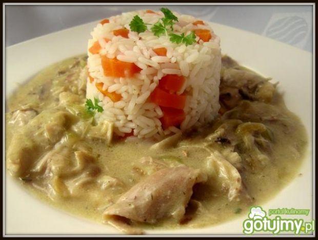 Ryż Parboiled z mięsem z kurczaka