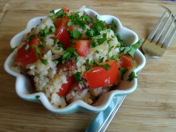 Ryż po wiejsku z papryką