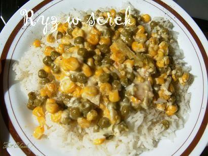 Ryż w serek:)