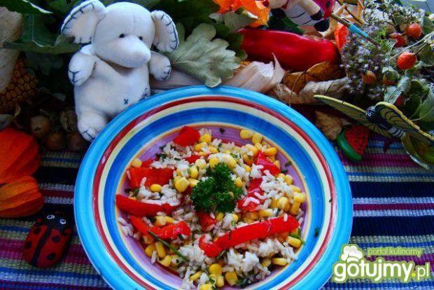 Ryż wegetariański na ciepło