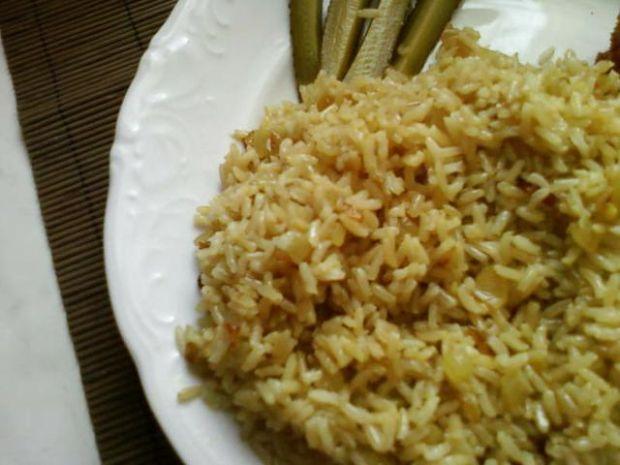 Ryż z cebulką i curry