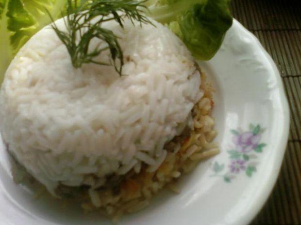 Ryż z dodatkami:)