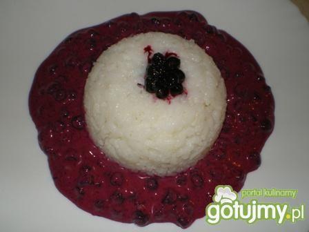 Ryż z jagodami