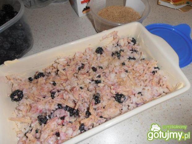 Ryż z jeżynami