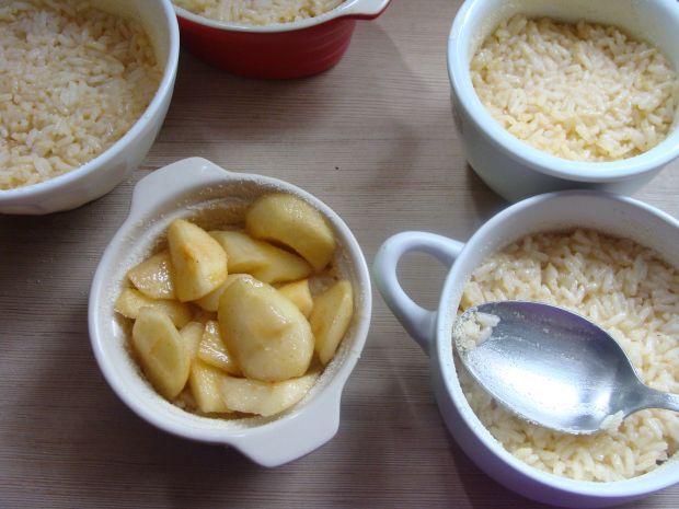 Ryż z karmelizowanymi jabłkami