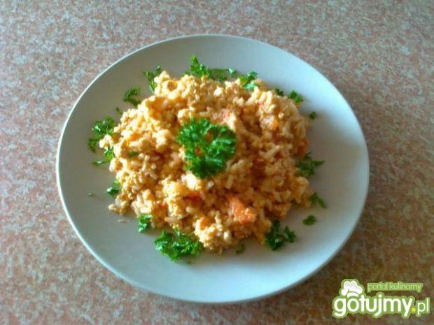 Ryż z kurczakiem i pomidorami