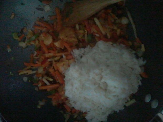 Ryż z mieszanką chińską