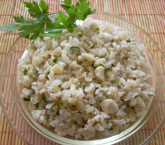 Ryż z migdałami