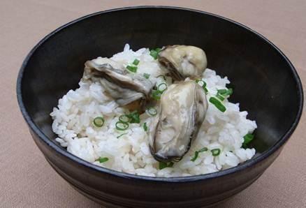 Ryż z ostrygami