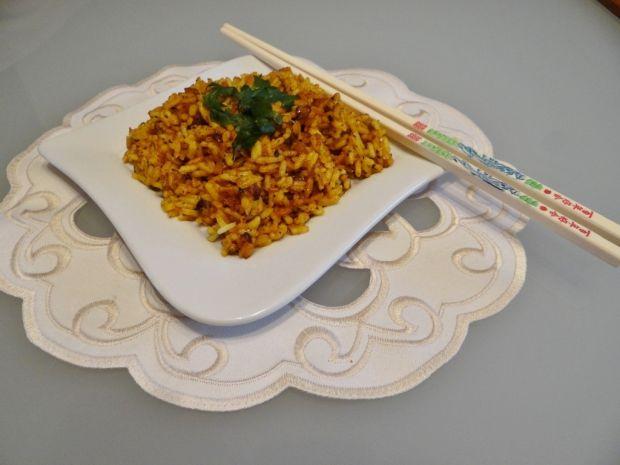 Ryż z przyprawami we Megg