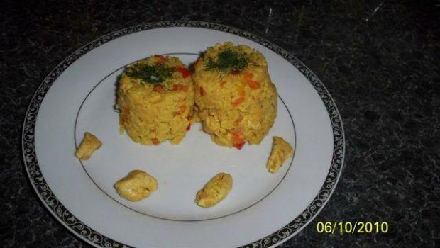 ryż z warzywami !!