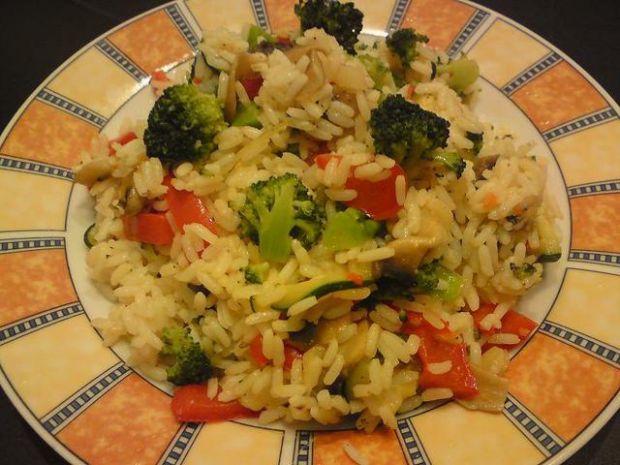Ryż z warzywami.