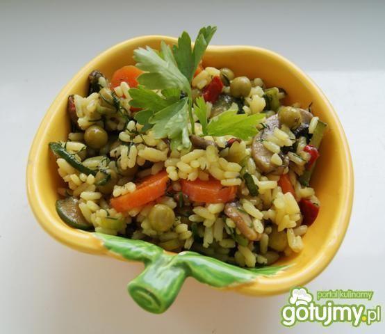 Ryż z warzywami :
