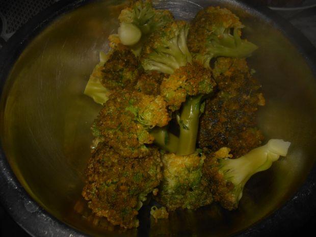 Ryż zapiekany z brokułami i serem