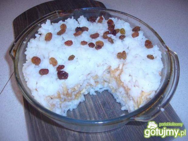 Ryż zapiekany z jabłkami 2