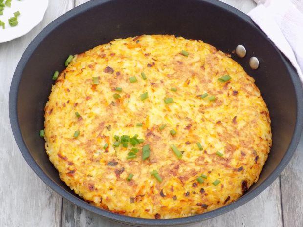 Ryżowa frittata z warzywami