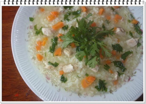 Ryżowa zupa Eli