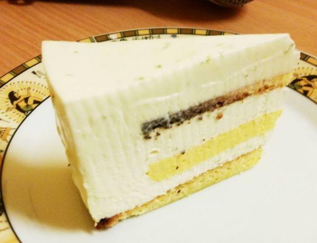 Rzeźki tort z mango i limonką