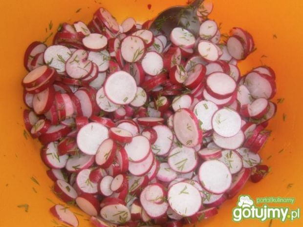 Rzodkiewki marynowane z curry