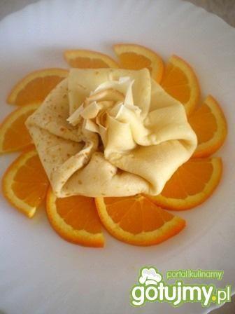 Sakiewki naleśnikowe na pomarańczach