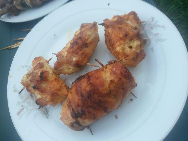 Sakiewki z kurczaka z grilla