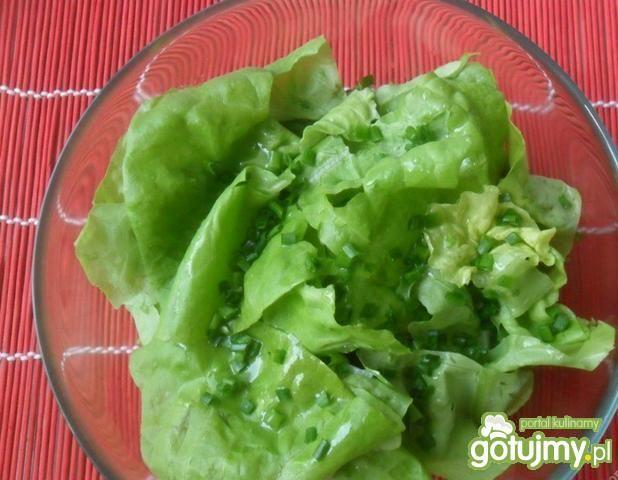 Sałata zielona po francusku