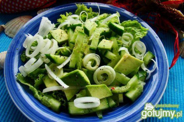 Sałata zielona z awokado