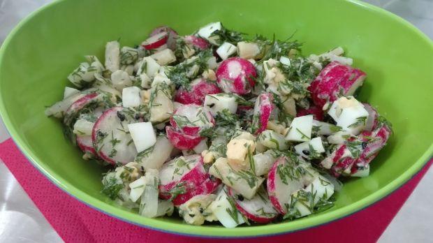 Sałatka 12- szparagowa - Dieta 1200 kalorii