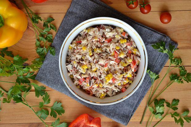 Sałatka 3 kolory ryżu