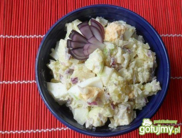 Sałatka cebulowo-ziemniaczana