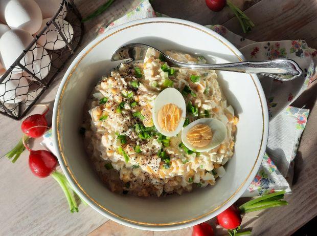 Sałatka chrzanowa z jajkiem